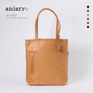 アニアリ・aniary トートバック【送料無料】<br>Scale Leather 牛革 Tote 18-02001|aniary-shop