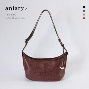 アニアリ・aniary ショルダーバッグ【送料無料】Scale Leather 牛革 Shoulder Bag 18-03000|aniary-shop