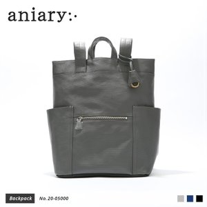 【aniary|アニアリ】Refine Leather リファインレザー 牛革 Backpack バックパック 20-05000 [送料無料]|aniary-shop
