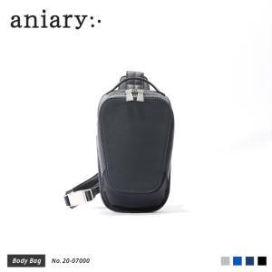 【aniary アニアリ】Refine Leather リファインレザー 牛革 Body Bag ボディバッグ 20-07000 [送料無料] aniary-shop