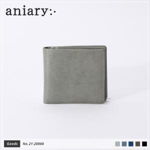 【aniary|アニアリ】Inheritance Leather インヘリタンスレザー 牛革 Goods ウォレット 二つ折り財布 21-20000 [送料無料]|aniary-shop