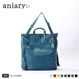 【aniary アニアリ】Crossing Leather クロッシングレザー 牛革 Tote トートバッグ 23-02001 [送料無料] aniary-shop