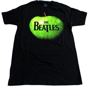 【2枚までメール便対応可】THE BEATLES ビートルズ APPLE LOGO オフィシャル バンドTシャツ【正規ライセンス品】|animal-rock