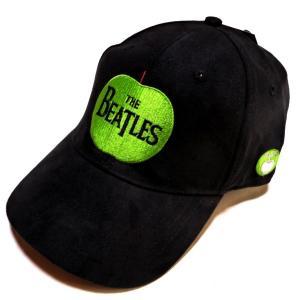【2枚までメール便対応可】THE BEATLES ビートルズ APPLE LOGO Cap オフィシャル バンドキャップ【正規ライセンス品】|animal-rock