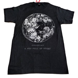 100% Officially Licensed Merchandise! COLDPLAY コール...