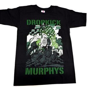 【2枚までメール便対応可】DROPKICK MURPHY'S ドロップキックマーフィーズ INVASION オフィシャル バンドTシャツ【正規ライセンス品】|animal-rock