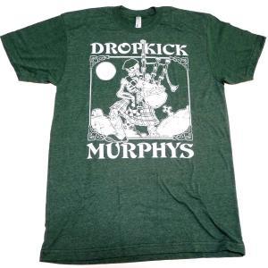 【2枚までメール便対応可】DROPKICK MURPHY'S ドロップキックマーフィーズ SKELETON PIPER オフィシャル バンドTシャツ【正規ライセンス品】|animal-rock