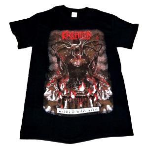 【2枚までメール便対応可】KREATOR クリーター WORLD WAR NOW オフィシャル バンドTシャツ【正規ライセンス品】|animal-rock