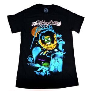 【2枚までメール便対応可】MOTLEY CRUE モトリークルー GRAVEYARD VINTAGEオフィシャルバンドTシャツ【正規ライセンス品】|animal-rock