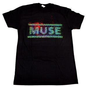 【2枚までメール便対応可】MUSE ミューズ  The 2nd Law US 2013 Tour オフィシャルバンドTシャツ【正規ライセンス品】|animal-rock