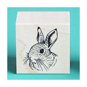 谷本ゴム印店【ペットスタンプ】Cタイプ・ウサギ|animalstamp