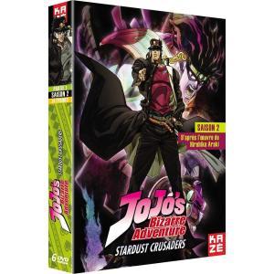 ジョジョの奇妙な冒険 2nd Season スターダストクルセイダース DVD-BOX 1/2(1-...