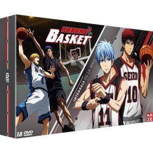 黒子のバスケ 1期+2期+3期 TV版 アニメ DVDのフランス輸入版です。 日本語視聴できます。 ...