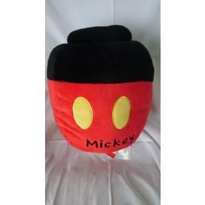ミッキーマウス ハニーポッド型クッション animeni