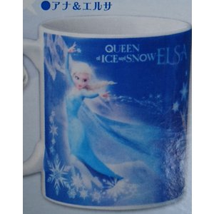 アナと雪の女王 マグカップ(アナ&エルサ) animeni