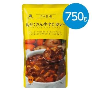 具だくさん牛すじカレー(中辛)/750g|animo-store