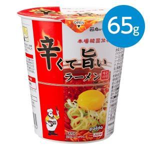 辛くて旨いラーメン (65g)カップ animo-store