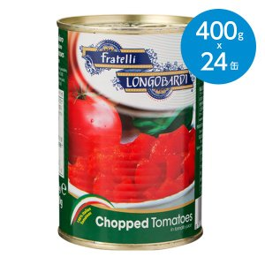 完熟トマト缶/チョップド・まとめ買い/1ケース(400g×24缶)|animo-store
