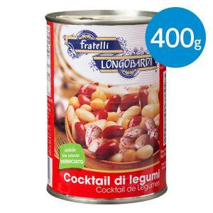 フォービーンズミックス 白いんげん豆、ひよこ豆、赤いんげん豆、うずら豆(400g)|animo-store