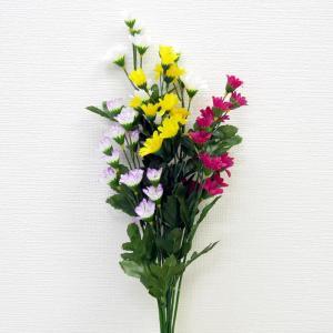 仏花 造花 仏壇用 お墓用 【 小菊アレンジ 小 】 1束