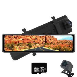 [期間限定2000円OFF]ドライブレコーダー ミラー型 前後カメラ 駐車監視 再生機能 Gセンサー...