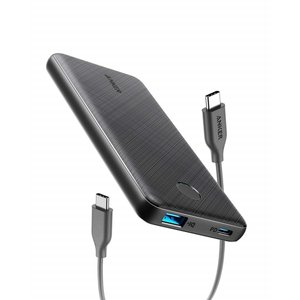Anker PowerCore Slim 10000 PD 改善版 モバイルバッテリー 10000mAh 大容量PSE認証済 Power Delivery対応  低電流モード搭載 iPhone & Android 各種対応