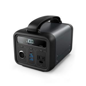 Anker PowerHouse 200 ポータブル電源  57600mAh PSE認証済キャンプ ...