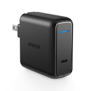 Anker PowerPort Speed 1 PD30 USB充電器 30W 折り畳み式プラグ Power Delivery Galaxy S9 Xperia XZ1 その他USB-C機器対応の商品画像|ナビ