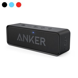 Bluetooth スピーカー Anker SoundCore ポータブル Bluetooth4.2 Anker正規販売店 24時間連続再生可能 デュアルドライバー ワイヤレススピーカー 内蔵マイク搭載|ankerdirect