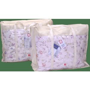 ホワイトダウン85%西川羽毛布団ダブルサイズA166%日本製|anminplaza