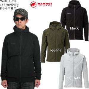 マムート MAMMUT ジャケット メンズ マウンテンパーカー Granite SO Hooded Jacket AF Men 1011-00321 アウター アウトドア トレッキング 2020春夏新作|ann-inter