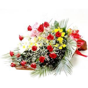 花 退職祝 結婚祝 赤 バラ ラン 豪華 花束 バースデー ギフト プレゼント 歓送迎 送別 退職 贈り物 卒業|anne