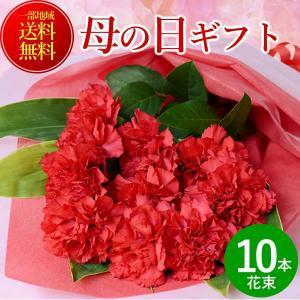 母の日 2018 花 花束 赤カーネーション10本の花束 ギフト 送料無料 プレゼント ギフト