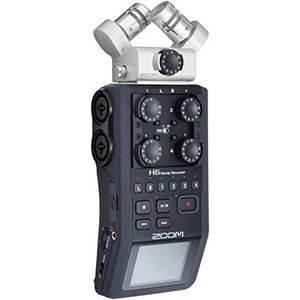 ZOOM ズーム リニアPCM/ICハンディレコーダー マイク交換型 ポータブルレコーディング H6
