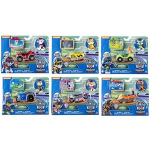 Paw Patrol Mission Paw Complete Set of 6 Figures with Vehicles|annex2019