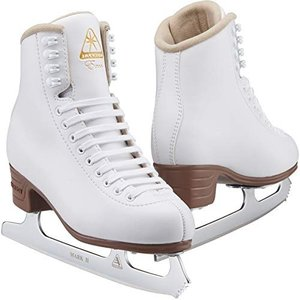 Jackson Ultima エクセル ホワイトフィギュア アイススケート靴 女性と女の子用 ? 改...