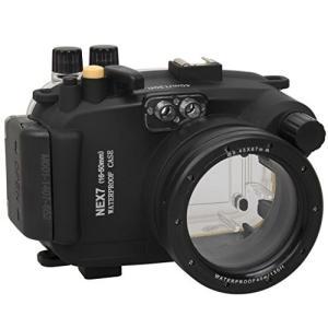 Polaroid ダイビング定格 完全防水 水中カメラハウジングケース (Sony NEX 7 16...