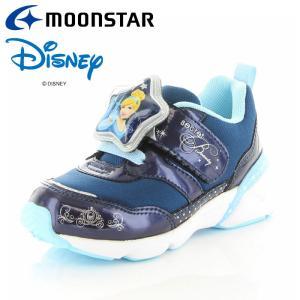 ムーンスター ディズニー DN C1249 ネイビー 12180845 【ディズニーLED搭載光る靴 子供靴】|annexsports