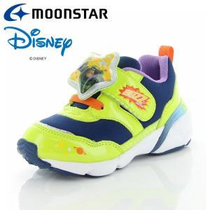 ムーンスター ディズニー DN C1249 グリーン 12180847 【ディズニーLED搭載光る靴 子供靴】|annexsports