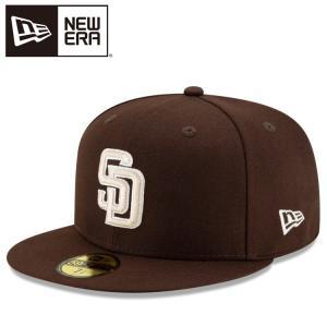 送料無料! ニューエラ 59FIFTY MLB オンフィールド サンディエゴ・パドレス オルタネイト ブラウン 12504367|annexsports