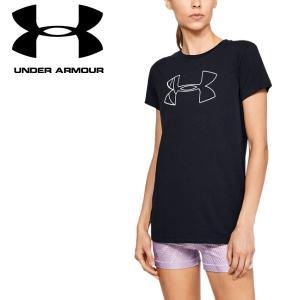 クリアランスセール アンダーアーマー Tシャツ UAグラフィックビッグロゴクラシッククルー 1330348 レディース 19SS ゆうパケット配送|annexsports
