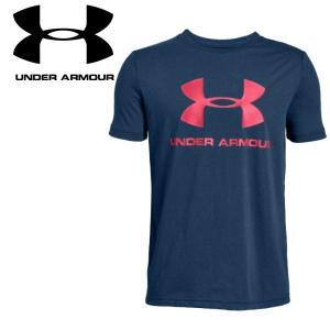 クリアランスセール アンダーアーマー Tシャツ UAスポーツスタイル ロゴ 1330893 ジュニア 19SS ゆうパケット配送|annexsports