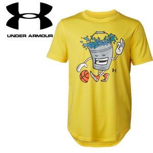 クリアランスセール アンダーアーマー バスケットボール Tシャツ UAテック Bucket Ball 1331566 ジュニア 19SS ゆうパケット配送 annexsports