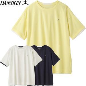 ダンスキン Non WeT ワイドクルーTシャツ レディース 18SS DB78122 ゆうパケット配送 annexsports