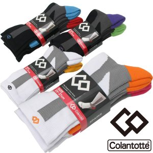 コラントッテ パイルサポート クルーソックス 靴下 2足組 425828 メール便配送