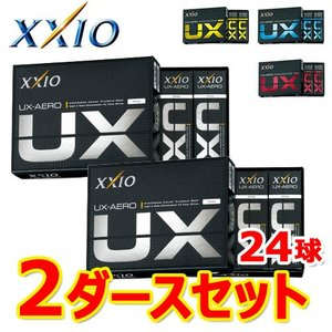 2ダースセット ゼクシオ UX エアロ ゴルフボール UX ...