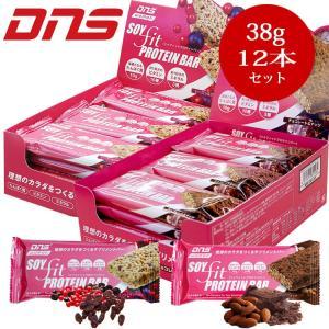 DNS womanソイフィットプロテインバー 1箱 38g×12本 annexsports