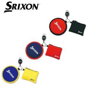 SRIXON GGF-25294 ボールクリーナー&ポーチ  リールキーホルダー付きで、バッ...