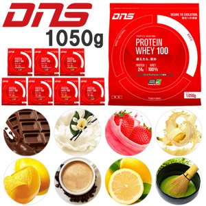 DNS プロテインホエイ100 【1050g】 大量摂取型プロテイン|annexsports