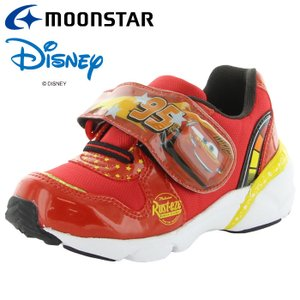 ムーンスター ディズニー「カーズ」の光るキッズシューズ DN C1284 レッド 12182332 子供靴 キッズ スニーカー|annexsports